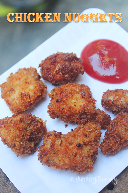 Chicken Nuggets Recipe Crispy Chicken Nuggets Kids Special Recipe