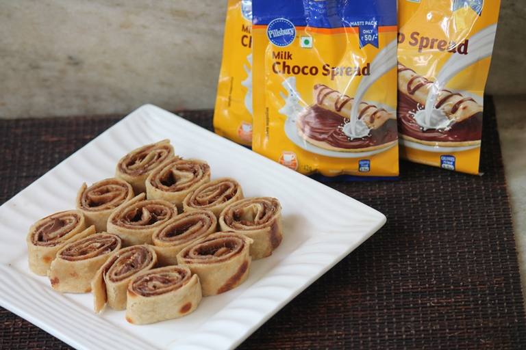 Chocolate Pinwheels Recipe using Pillsbury Milk Choco Spread