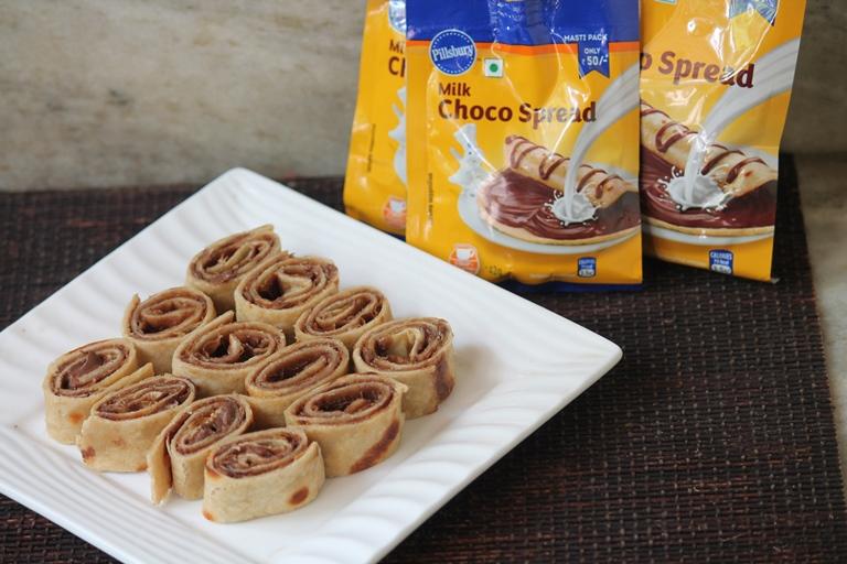 Chocolate Pinwheels Recipe using Pillsbury Milk Choco Spread