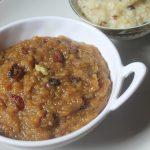 Aval Sarkkarai Pongal Recipe – Poha Sweet Pongal Recipe