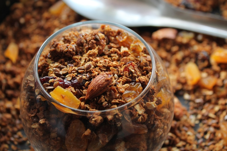 Granola Recipes – Muesli Recipes – Perfect way to start a day