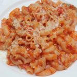 Red Sauce Pasta Recipe – Macaroni with Tomato Sauce Recipe