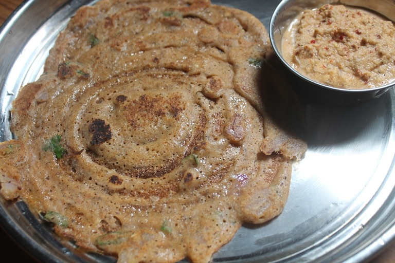 Kuthiraivali Thinai Adai Dosa – Millets Recipes