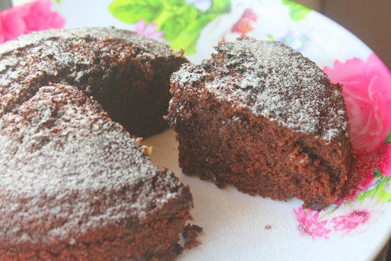 Chocolate Banana Cake For Diabetics