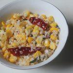 Sweet Corn Sundal Recipe – Simple Corn Sundal Recipe