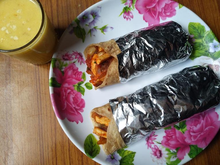 Paneer Kathi Rolls Recipe – Easy Paneer Recipes for Kids