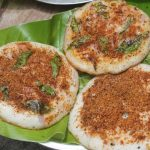 Onion Podi Uthappam Recipe – Podi Uthappam Recipe