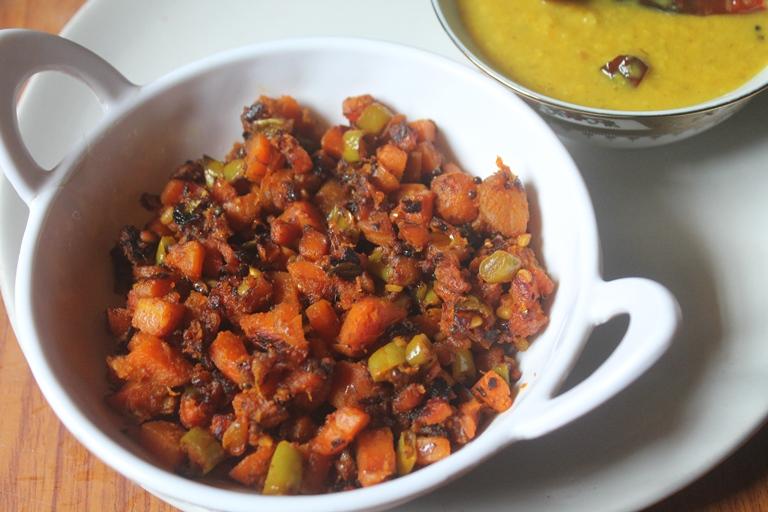 Carrot Mezhukkupuratti Recipe – Kerala Style Carrot Stir Fry
