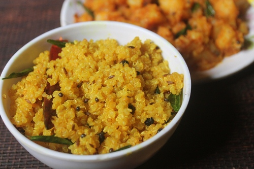 Lemon Quinoa Recipe – Quinoa Lemon Rice – Healthy Quinoa Recipes
