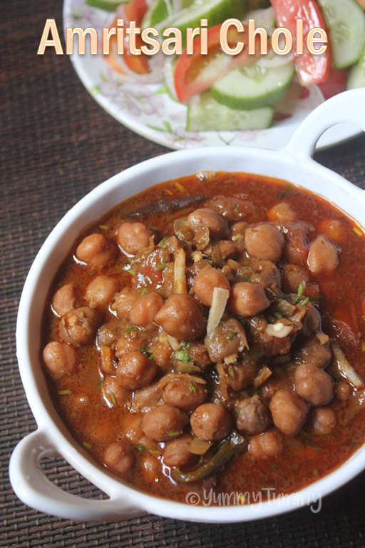 how to cook chole masala