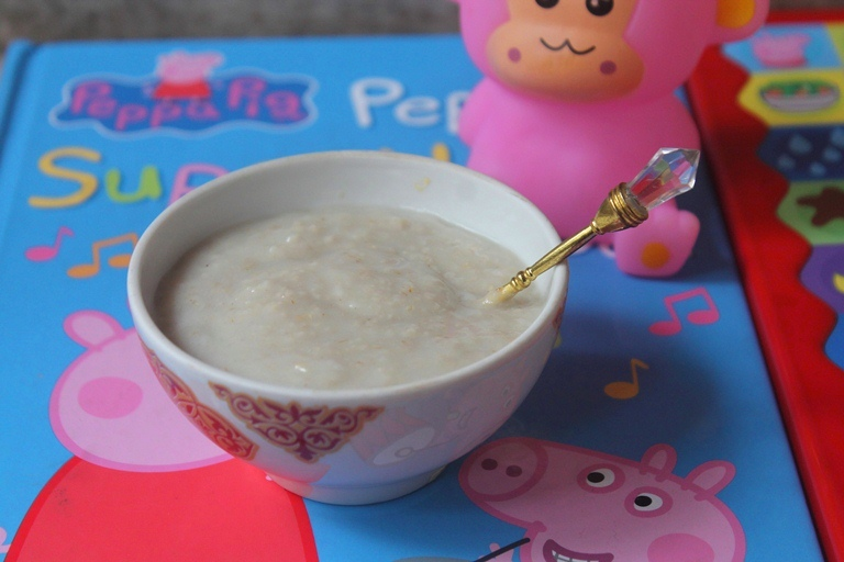 Oatmeal Cereal for Babies – Oatmeal Ceralac Recipe & MyOrganicFormula.com Review
