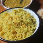 Chana Dal Pulao Recipe – Chana Dal Rice Recipe – Kadalai Paruppu Pulav Recipe