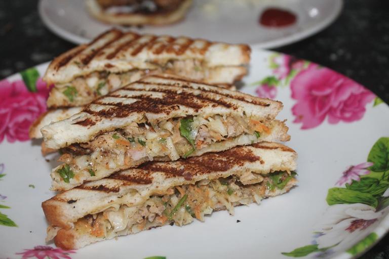Grilled Chicken Supreme Sandwich Recipe
