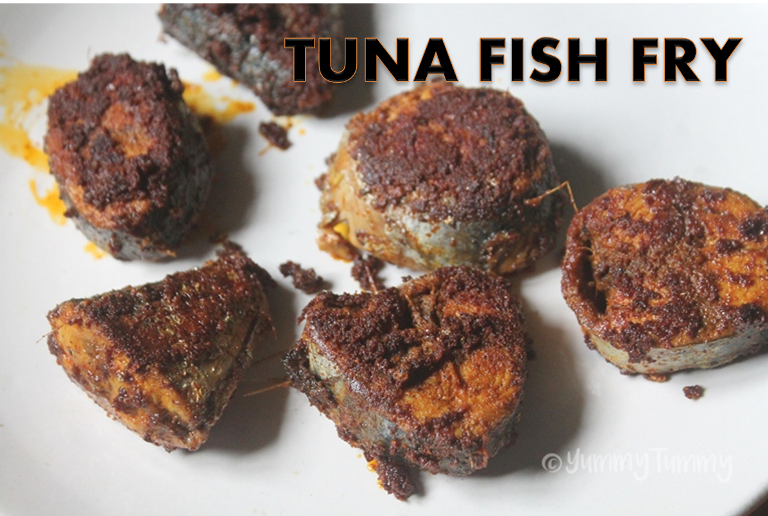Tuna Fish Fry Recipe – Choorai Meen Fry Recipe
