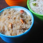 Sweet Idiyappam Recipe – Sweet Sevai Upma Recipe