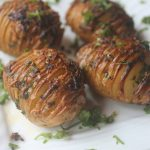 Hasselback Potatoes Recipe – Garlic Butter Hasselback Potatoes Recipe