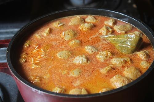 how to make soya chunks biryani