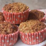 Oatmeal, Cinnamon & Apple Breakfast Muffins Recipe