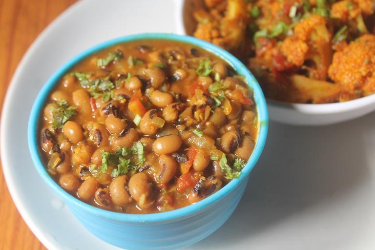 Black Eyed Peas Curry Recipe – Lobia Curry Recipe