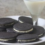 Homemade Oreo Cookies Recipe – Eggless Oreo Cookies Recipe