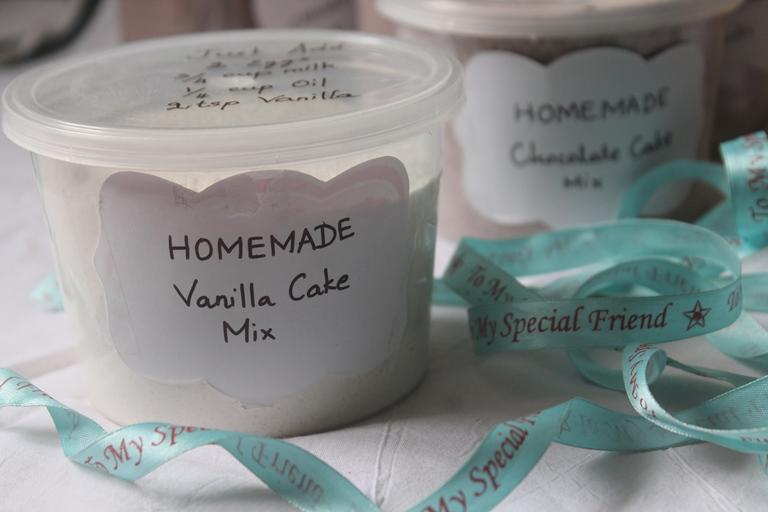 Homemade Vanilla Cake Mix – Edible Christmas Gift Ideas