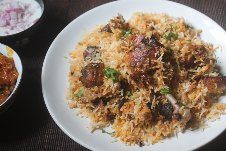Hyderabadi chicken dum biryani recipe christmas recipes hyderabadi chicken dum biryani recipe forumfinder Choice Image