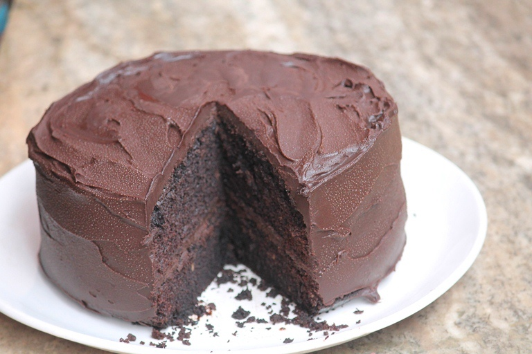 Eggless Devils Food Cake Recipe – Christmas Special Recipes