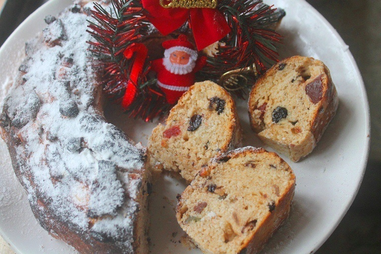 Christmas Spiced Fruit Bread Recipe