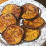 Bengali Baingan Bhaja Recipe – Pan Fried Eggplant Slices Recipe