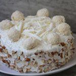 Raffaello Cake Recipe – Coconut and Almond Layer Cake Recipe – Welcome 2018