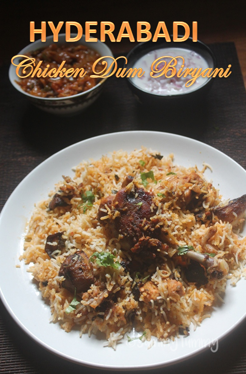 Hyderabadi chicken dum biryani recipe christmas recipes the cool part in making dum biryani is when you are dumming the biryani your house will be smelling like heaven and also when you open the biryani it is forumfinder Choice Image
