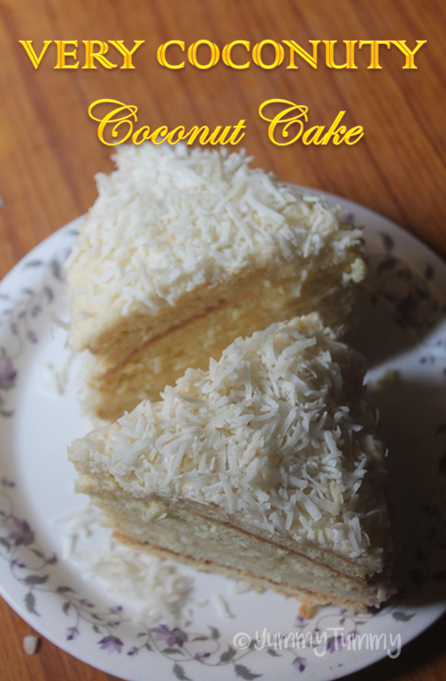 Easy Refrigerator Coconut Cake Recipe