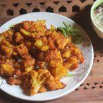 Fried Cauliflower Recipe – Fried Gobi Recipe
