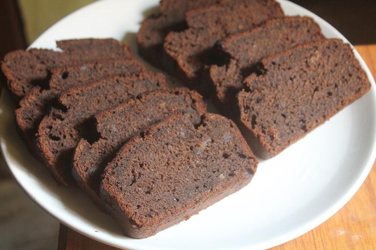 Easy Banana Bran Loaf Cake Recipe