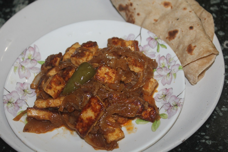 Paneer Delight Recipe – Easy Side Dishes for Roti