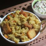 Vegetable Brinji Rice Recipe – Veg Brinji Rice Recipe