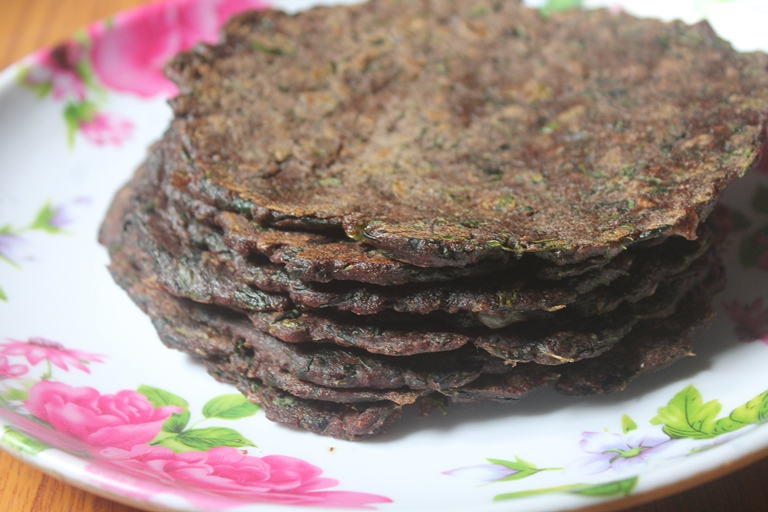 Ragi Drumstick Leaves Adai Recipe – Finger Millet Adai Recipe