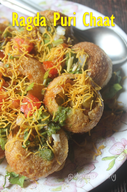 Ragda Puri Chaat Recipe