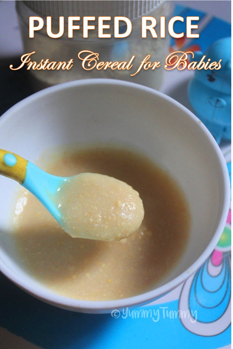 Puffed Rice Instant Cereal for Babies