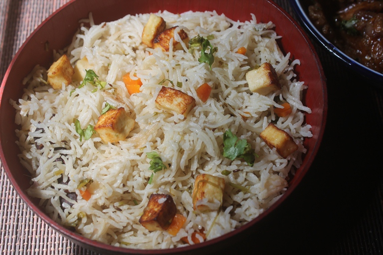 Paneer pulao recipe paneer pulav recipe kids lunch box ideas paneer pulao recipe paneer pulav recipe with step wise pictures forumfinder Choice Image