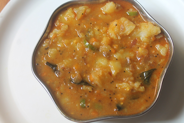 Potato Masala Recipe for Idli & Dosa