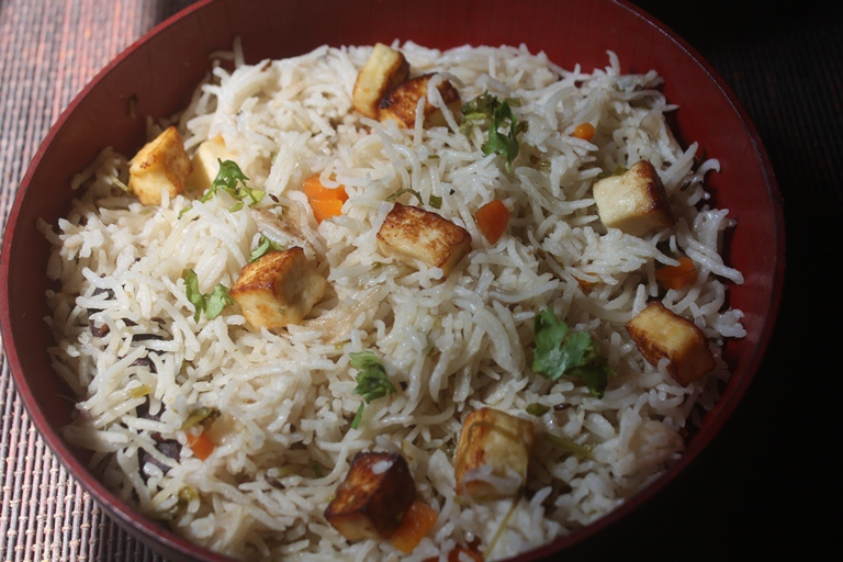 Paneer Pulao Recipe – Paneer Pulav Recipe