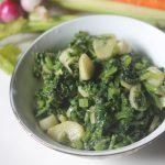 Garlic Spinach Recipe – Spinach Stir Fry with Garlic