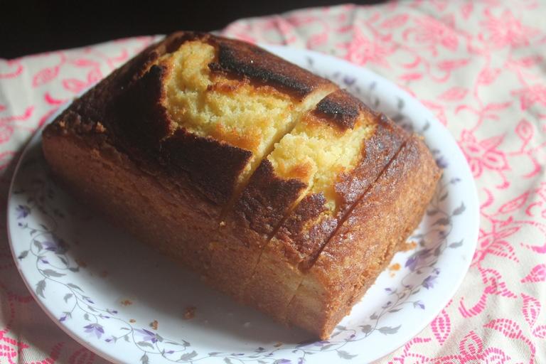 Vanilla Cake Yummy Tummy
