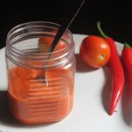 Homemade Red Chilli Sauce Recipe