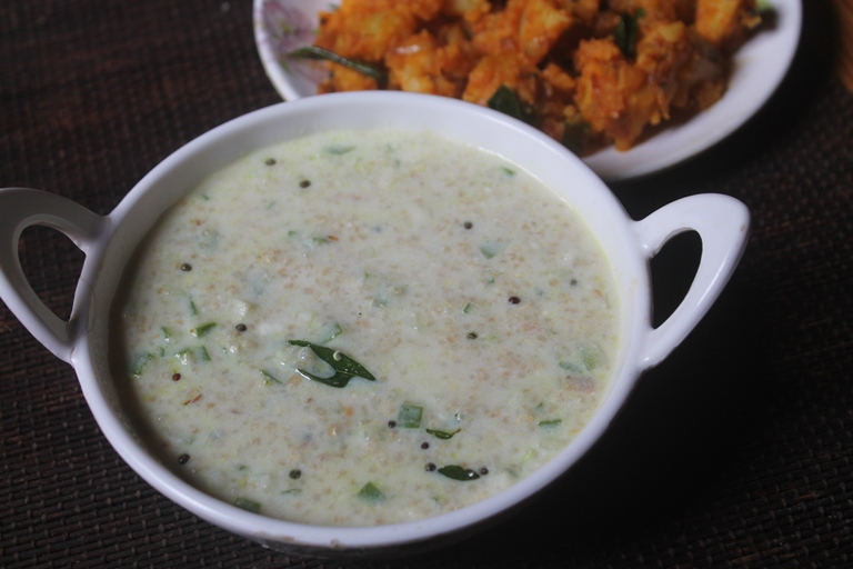 Quinoa Curd Rice Recipe – Quinoa Thayir Sadam Recipe