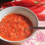 Maharashtrian Fresh Red Chilli Chutney – Easy Chutney Recipes