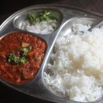 Rice and Bhaji Recipe – Veg Bhaji with Rice Recipe