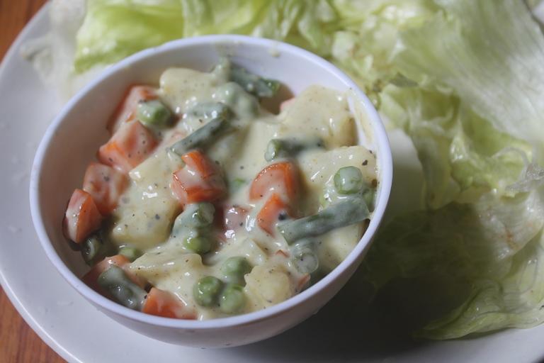Russian Salad Recipe – Vegetarian Russian Salad Recipe