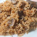 One Pot Mushroom Biryani Recipe – Kalan Biryani Recipe